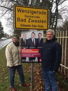 Gudrun Glaser und Dieter Kraushaar