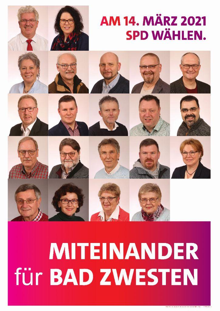 Kandidatenplakat BZW